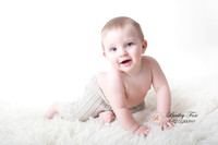 baby Al 9 month session