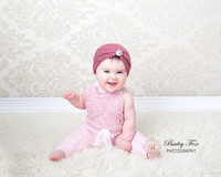 six month baby photography by bailey fox