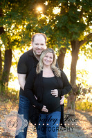 Miller Lindsay and Richard maternity session