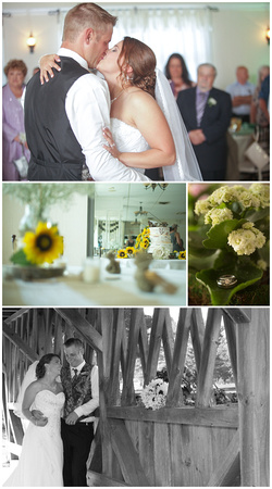 country neatraul sunflower wedding taken in glouster ri by bailey fox photography