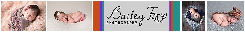logo and newborn images