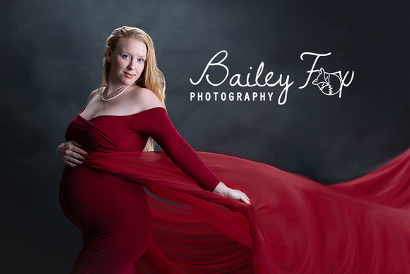 red dress from sew trendy studio located in ri images by bailey fox photography CPP