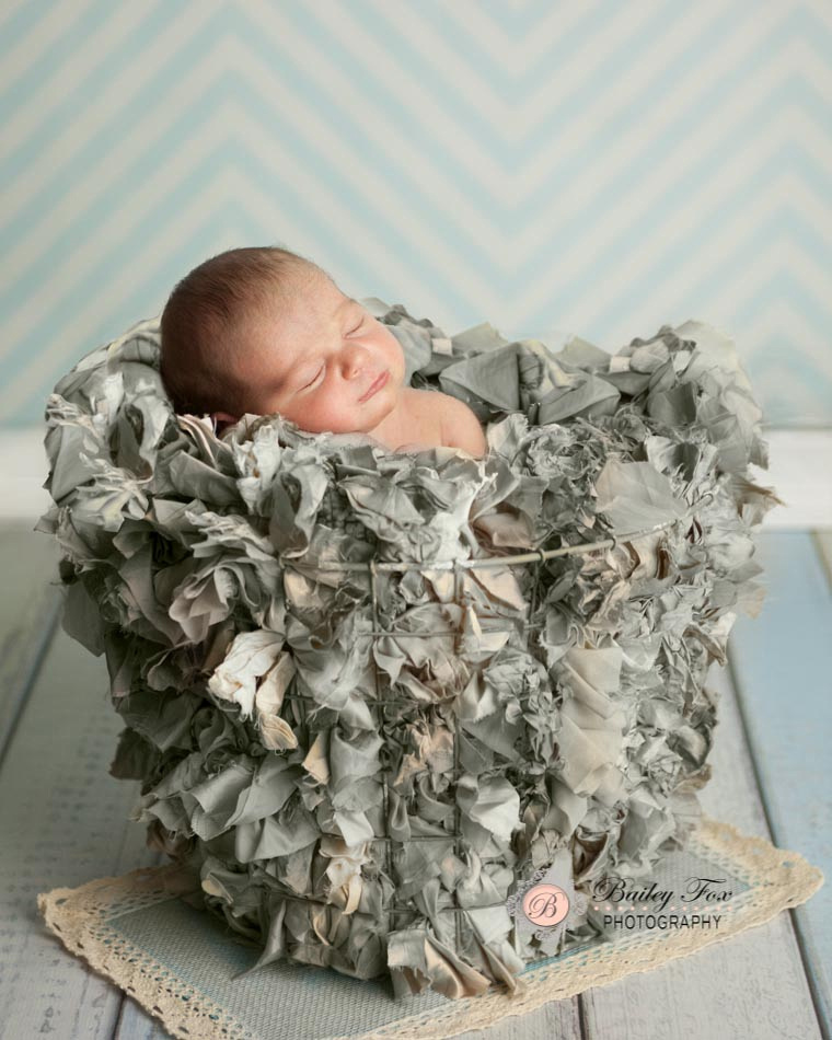 newborn portraits taken by photographer bailey fox photography in her baby portrait studio which also specializes in ri weddings.