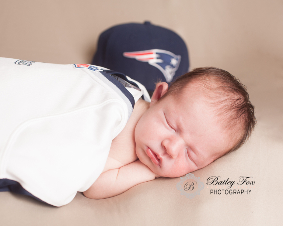 Newborn infant baby photography taken by bailey fox photography rhode island's best baby photographer