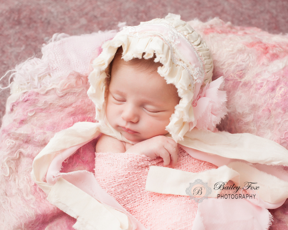 studio style newborn images.  Professional rhode island portrait photographer