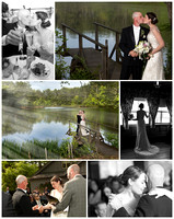 wedding photography at uri alton jones campus whispering pines by bailey fox