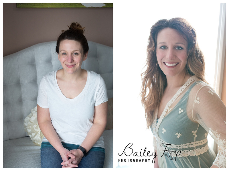glamour photography captured in rhode island before and after portrait