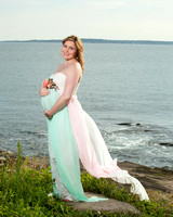 Maternity portraits taken in jamestown ri by bailey fox