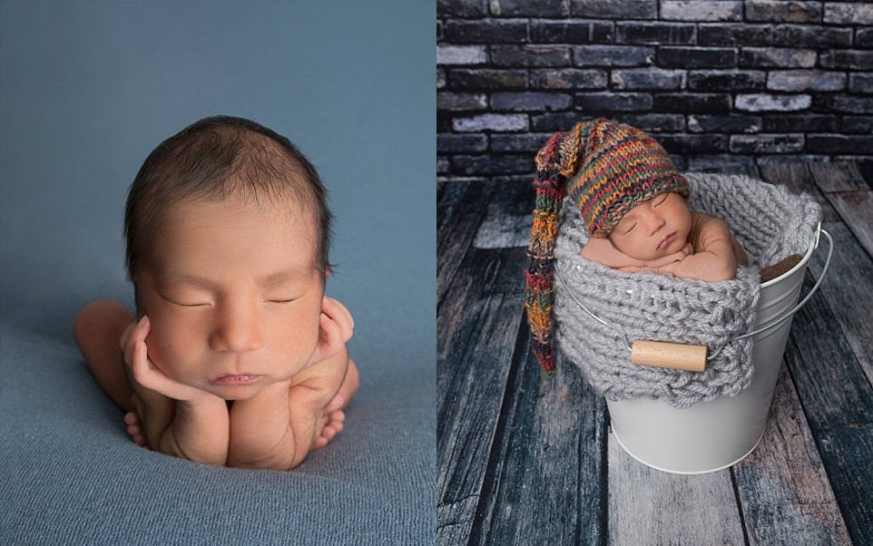 newborn baby boy portraits