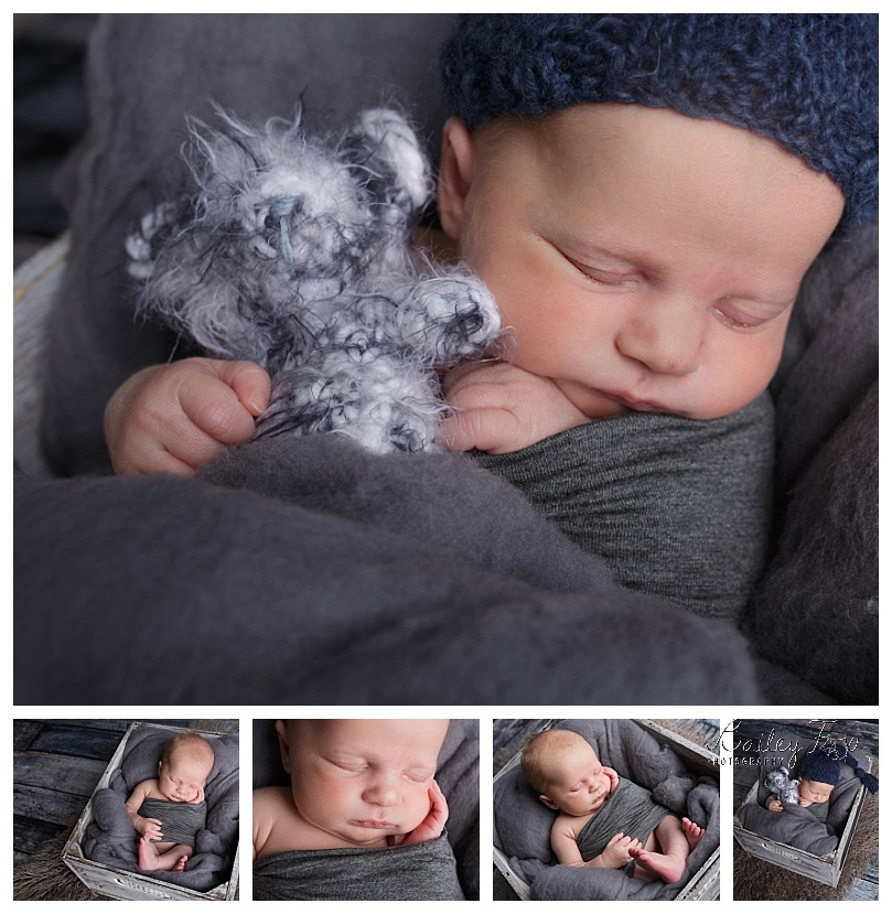 newborn portraits taken in rhode island studio