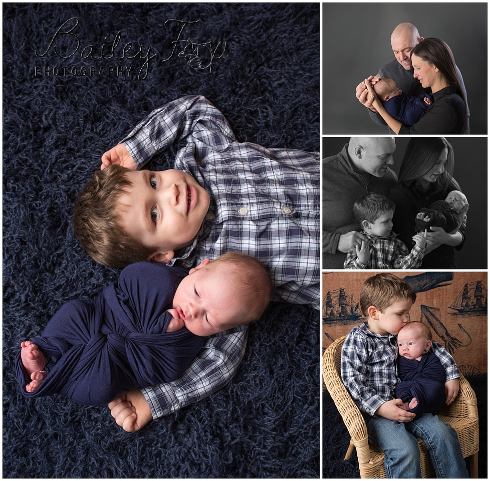 images of newborns with their big brother!